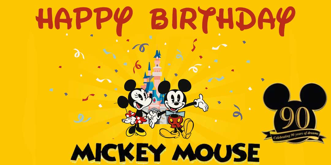 Mickey Mouse's birthday – commemorating 90 years of magic