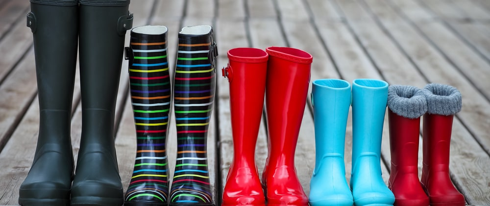 Where to buy designer wellies in the UK