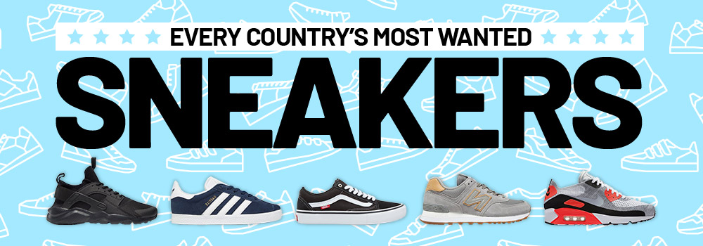 Every Country's Most Wanted Sneakers