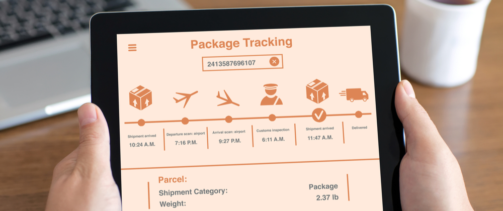 How to track a forwarded package