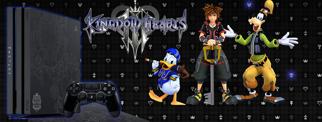 Get Your Hands on the PS4 Pro Kingdom Hearts 3 Special Edition