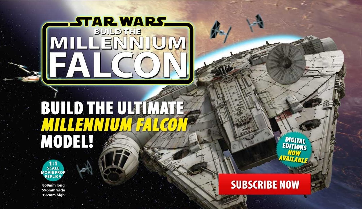 Have you ever wanted to build your own Millennium Falcon? Well now you can!